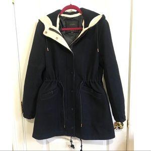 JCREW wool Nello Gori coat